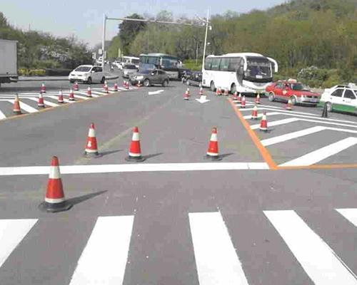 道路标线工程施工